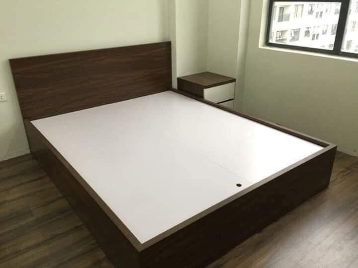 Giường MDF 1.6x2m không ngăn kéo