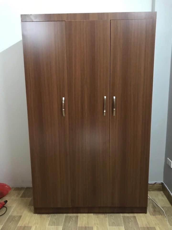 Tủ áo 1.2x2m 3 cánh thẳng