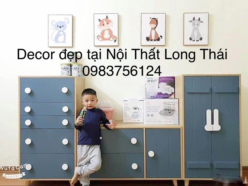 Tủ trẻ em decor 60x1m2
