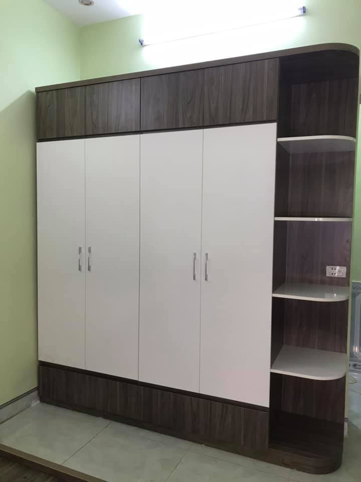 Tủ quần áo 2x2.4m cánh mở 2 tầng