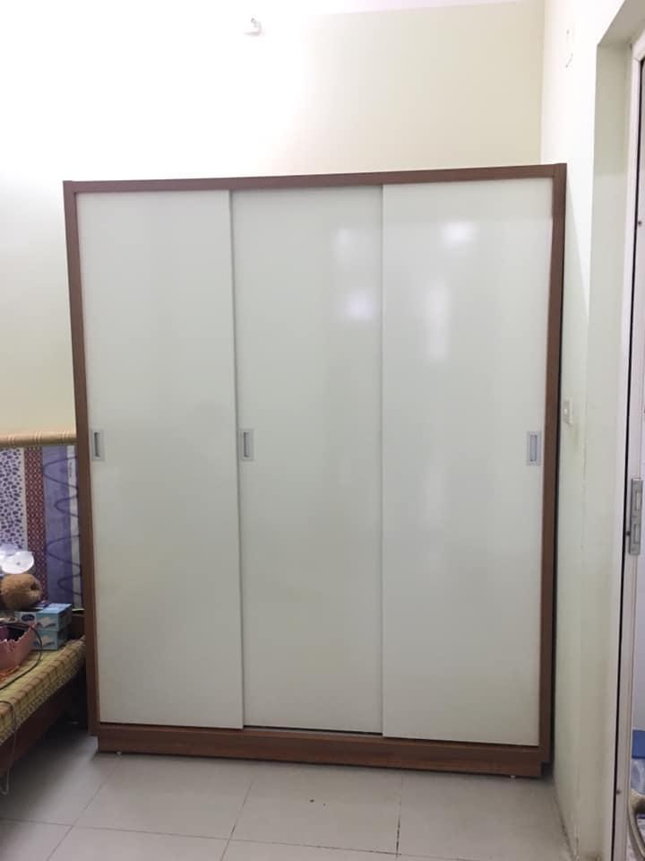 Tủ áo 1.6x2m 3 cánh lùa