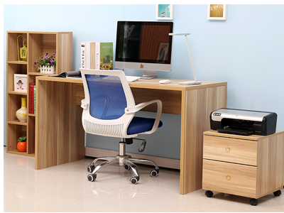 Bộ bàn làm việc , giá sách và hộc di động